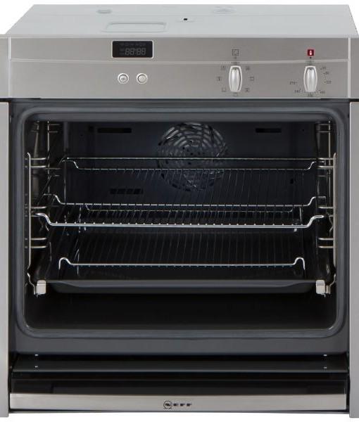 neff b44m42n3gb slide hide single built in electric oven. Black Bedroom Furniture Sets. Home Design Ideas