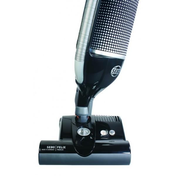 Sebo Felix Pet Eco Upright Vacuum Cleaner In Black