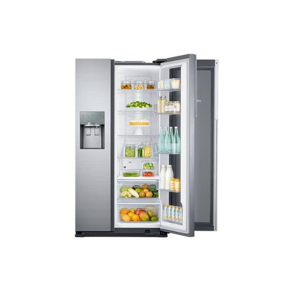 Samsung Rh56j69187f American Style Fridge Freezer Ice