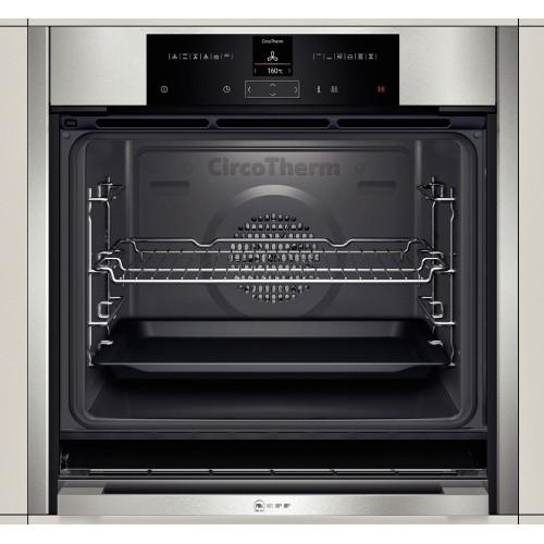 neff b45cs32n0b built in electric oven slide hide fast. Black Bedroom Furniture Sets. Home Design Ideas