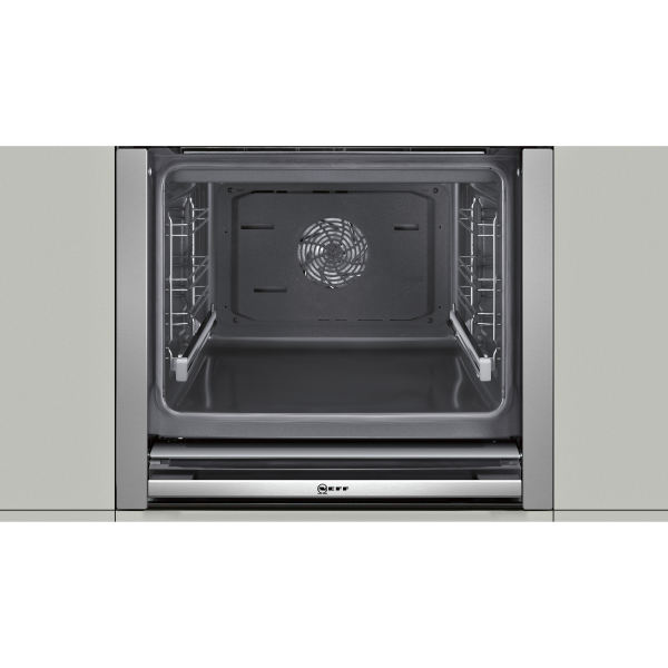 Neff B57cr23n0b Stainless Steel, How To Clean Inside Neff Oven Door Glass